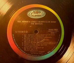 Label Variations Part One Sgt Pepper Beatles Blog