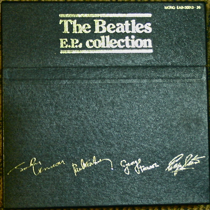 Japanese Beatles Ep Box Set Beatles Blog