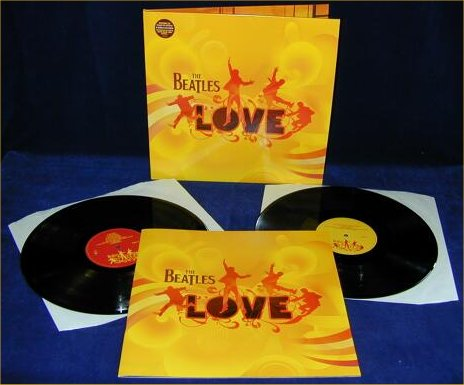 Beatles Love Quotes Love Vinyl lp Set