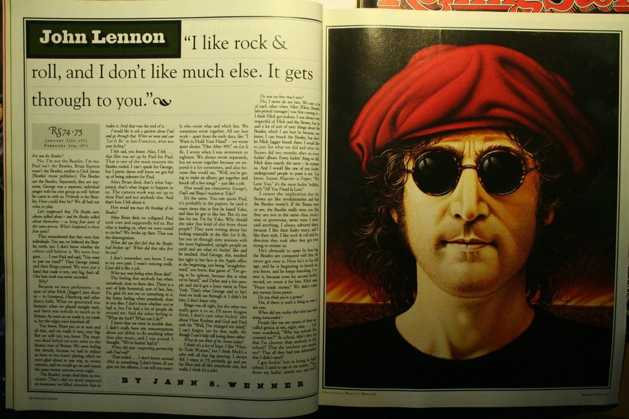John Lennon Rolling Stone Interview Interview With John Lennon