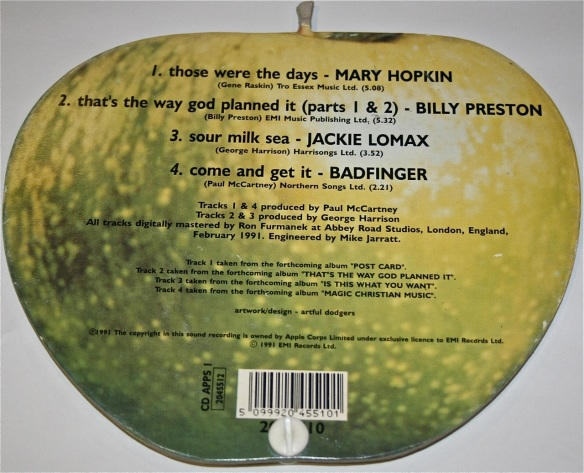 Apple EP - rear cover