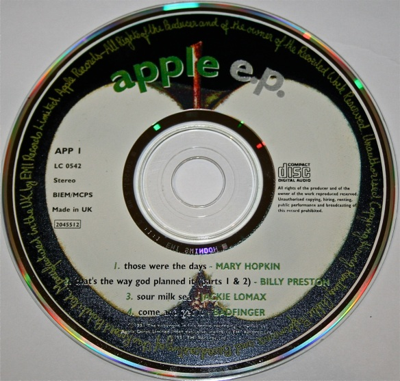 Apple EP CD