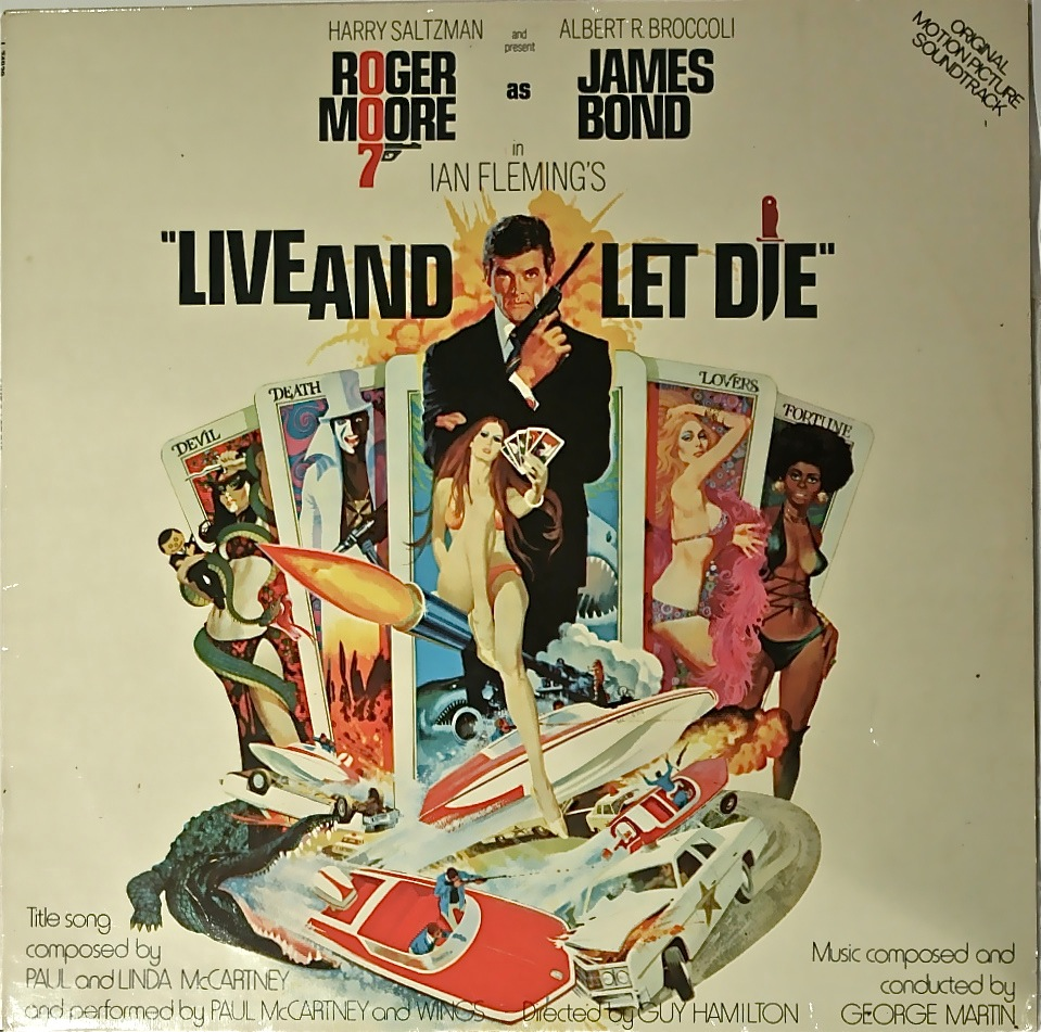 Mccartney And Wings Live And Let Die Ost Vinyl