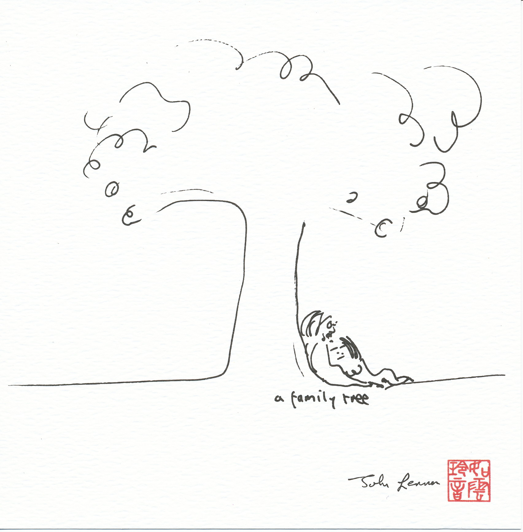 Line Drawing John Lennon : John lennon signature box beatles ジョン・レノン