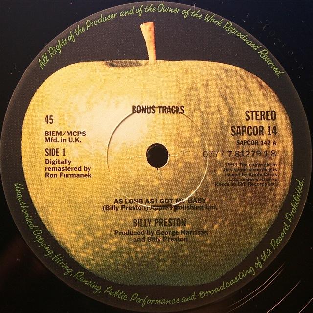 Apple Artist Lp Reissues From 1991 To 1996 Beatles Blog