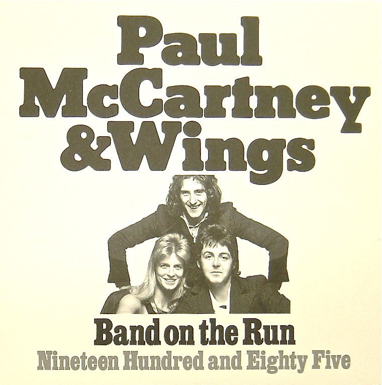 Band On The Run Limited Edition 45 Single Beatles Blog