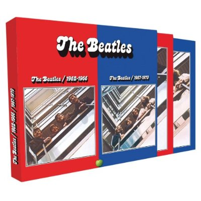 Beatles Red And Blue This Is Odd Beatles Blog