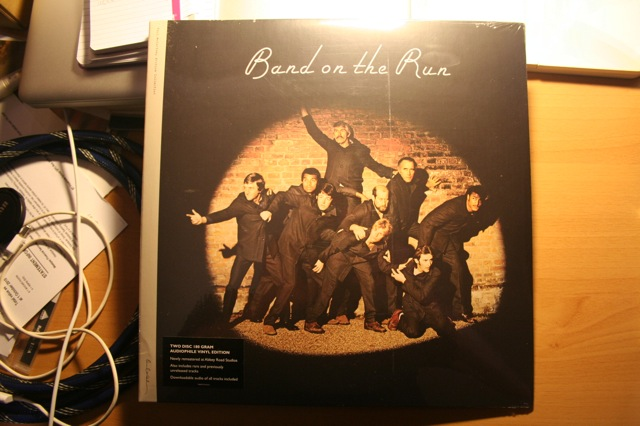 Finally My Copies Of Band On The Run In Both 2 Disc Vinyl Edition And Deluxe 4 CD Bound Book Special Have Arrived From United