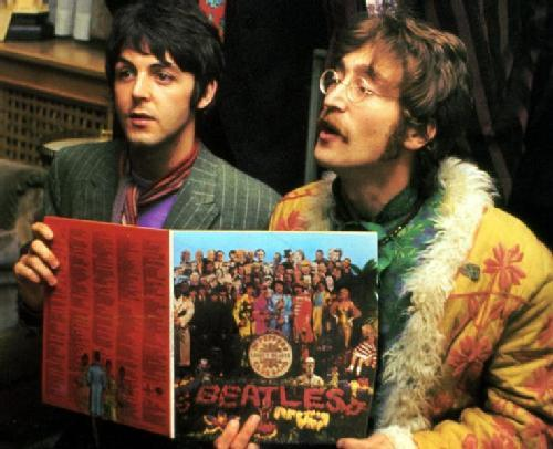 The Beatles With Records Part Three Beatles Blog