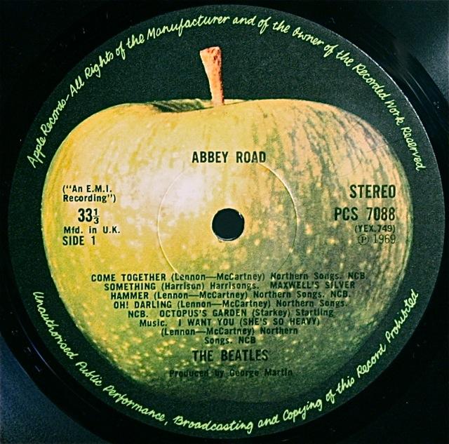 Label Variations Part Six Abbey Road Beatles Blog