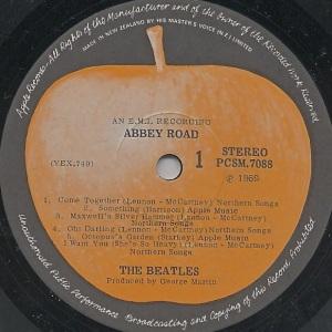Label Variations Part Seven Abbey Road More