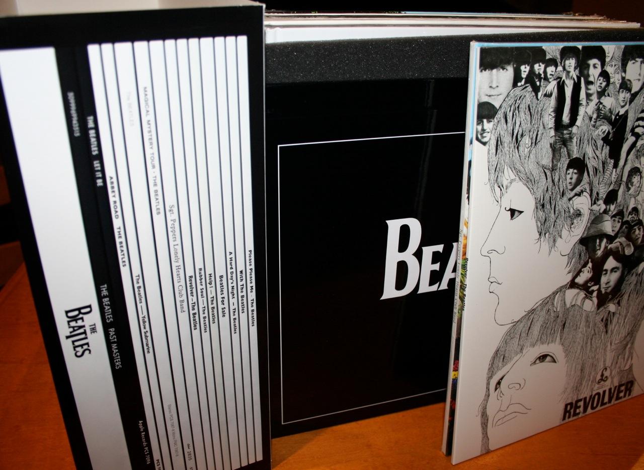 Beatles Vinyl Outer Sleeve Detail