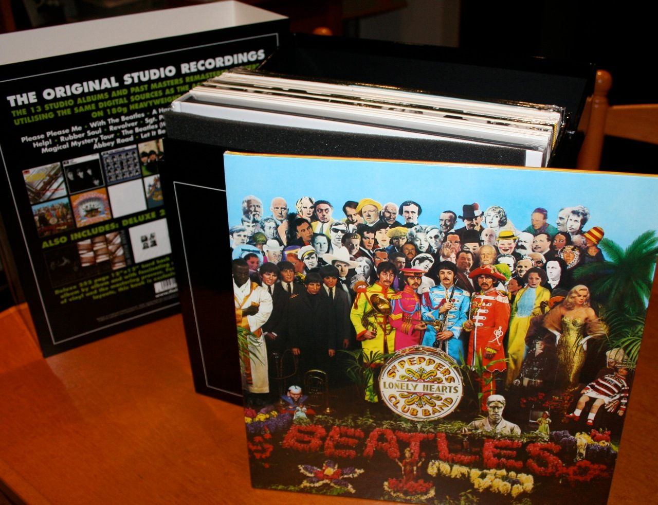 Beatles 2012 Remastered Vinyl Released First Pictures