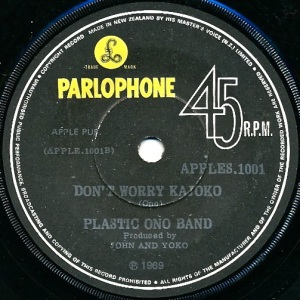 Plastic Ono Band Label 2
