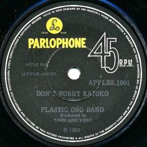 Plastic Ono Band Label 2