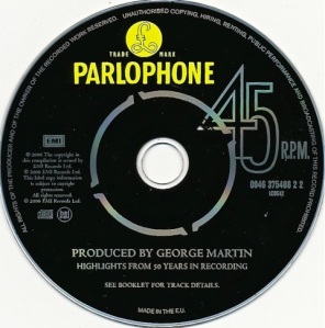 Produced by George Martin Highlights CD