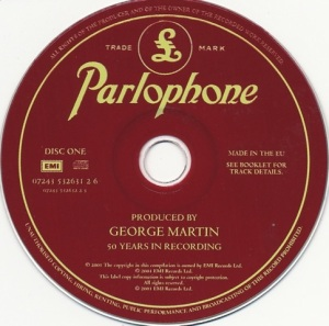 Produced by George Martin CD1