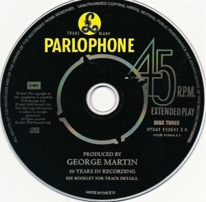 Produced by George Martin CD3