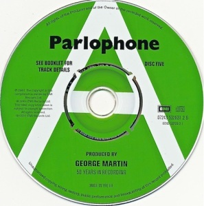 Produced By George Martin CD5