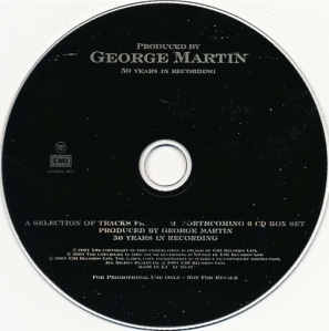 Produced by George Martin Promo CD