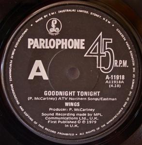 Good Night Tonight Parlo2 label