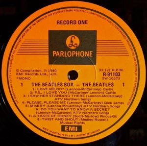 Beatles From Liverpool Label
