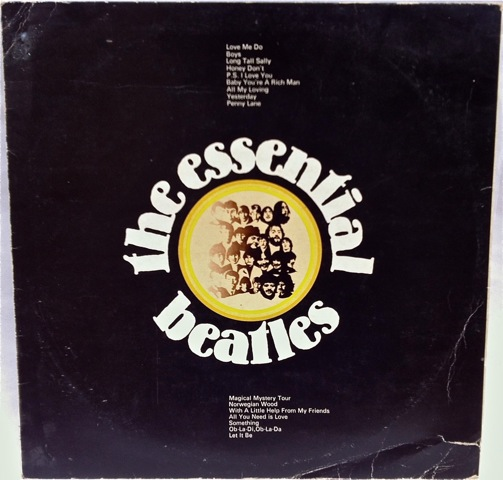 Essential Beatles front