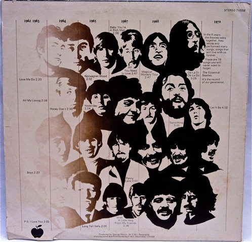 Essential Beatles rear