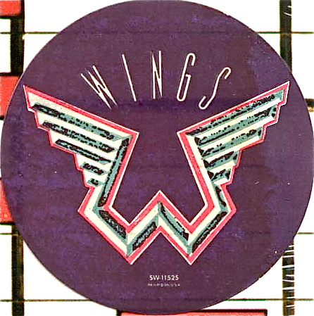 One Is The Daggy Cover Design Featuring A Poorly Stylised Version Of Official Wings Logo Time This What Real Thing Looks Like