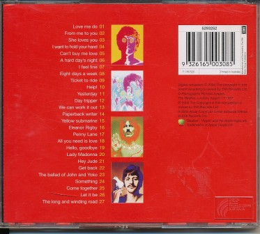 Beatles 1 rear