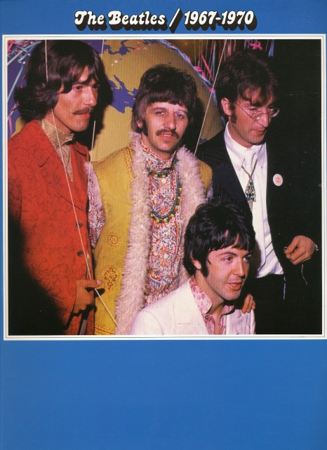 Beatles 1967-1970 bookfront