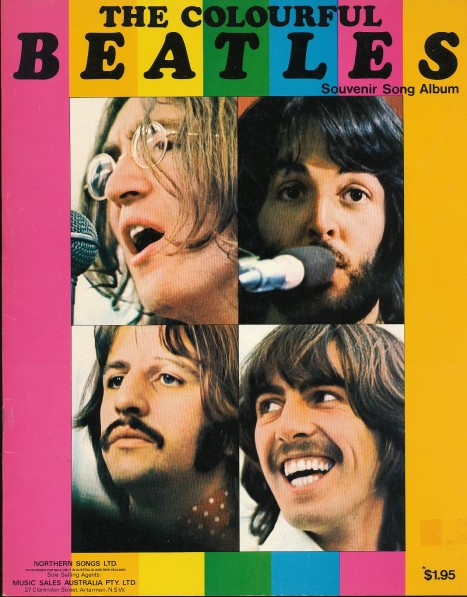 Colourful Beatles front