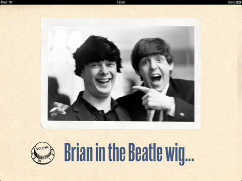Ringo Photos Brian in Wig