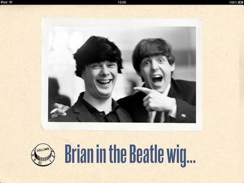 Ringo Photos Brian in Wig