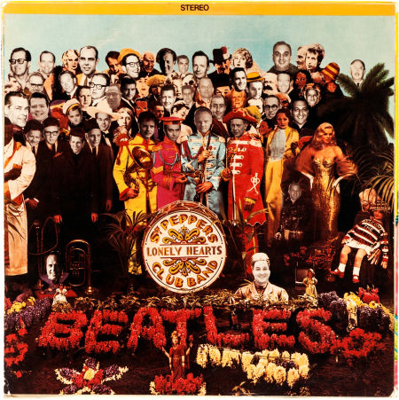 Sgt Pepper Cover Beatles Blog