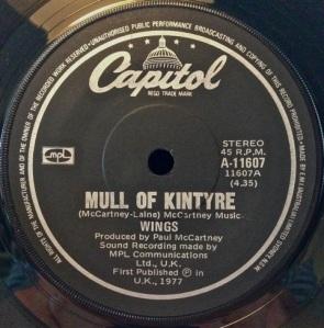 Mull of Kintyre 1977