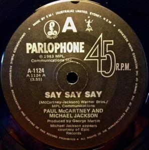 Say Say Say 1983