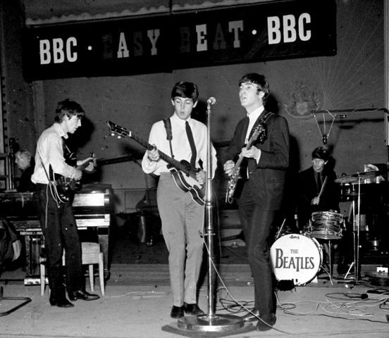 Beatles BBC2-tiff