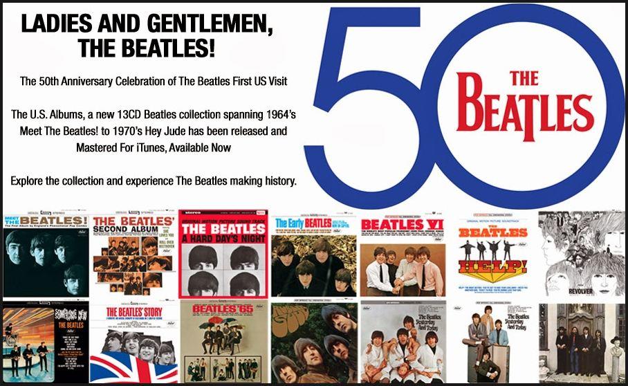 Beatles US Albums Advertisement