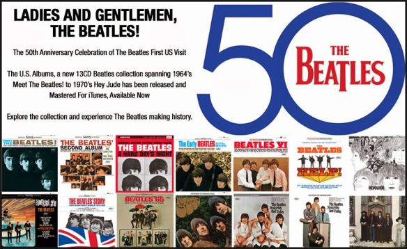 Beatles US Albums Advertisement
