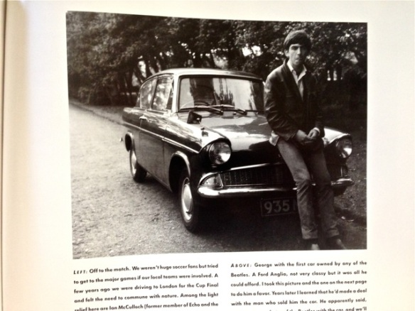 George Harrison and Ford car