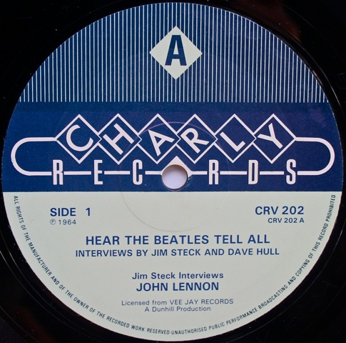 Hear The Beatles Tell All British Charly Records Re