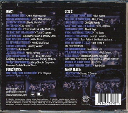 30th Anniv CD Rear
