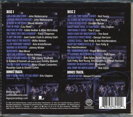 30th Anniv CD Rear