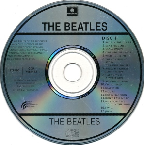 Beatles White Aus Disc 1