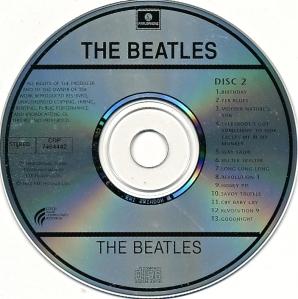 Beatles White Aus Disc 2