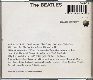 Beatles White Aus rear