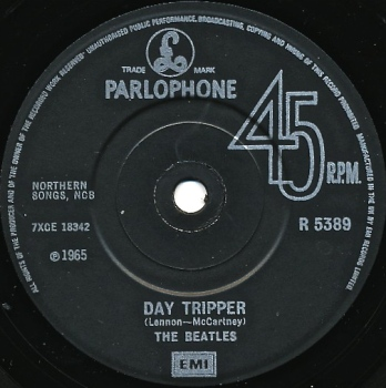 Day Tripper Label
