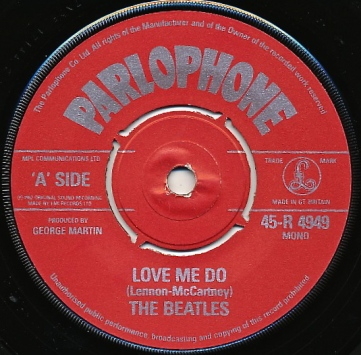 Love Me Do Label