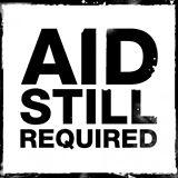 Aid Still Required Logo